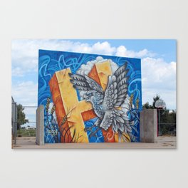 Salt Hawk Summer Canvas Print