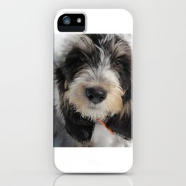 GBGV Puppy with Attitude iPhone Case