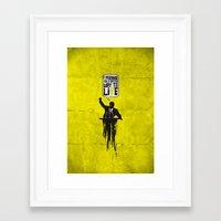 political Framed Art Prints featuring Political speech! by Alejandro Ayala