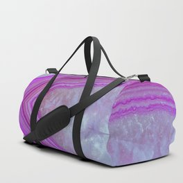Pink Bubblegum Agate Duffle Bag
