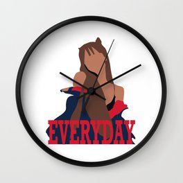 Ariana Everyday Wall Clock