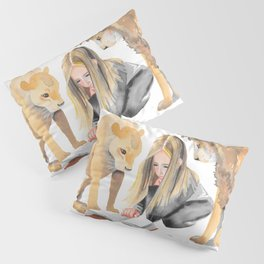 Read Between the Lions Pillow Sham