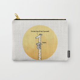 You may hug all day if you want Carry-All Pouch