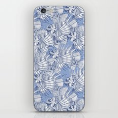 fish mirage blue iPhone Skin