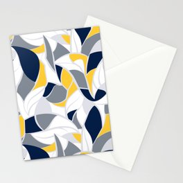 Abstract winter mood II Stationery Cards