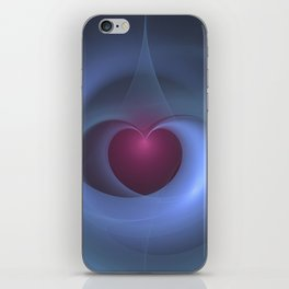 Take Care of My Heart Fractal iPhone Skin