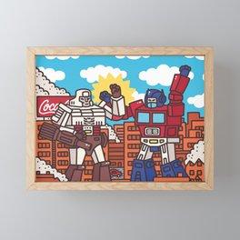 Transformers Framed Mini Art Print
