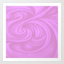 neon pink II Art Print