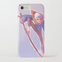 jack frost iPhone & iPod Cases featuring Jack Frost by DustyLeaves