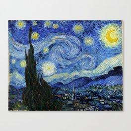 "Vincent van Gogh ""The Starry Night"" Canvas Print"