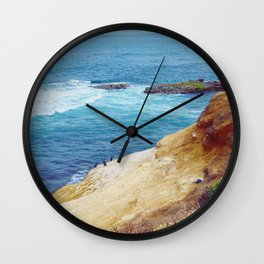 Cliffs and Shoals Wall Clock