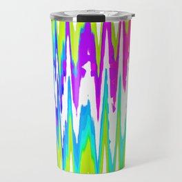 Rainbow rhombus Travel Mug