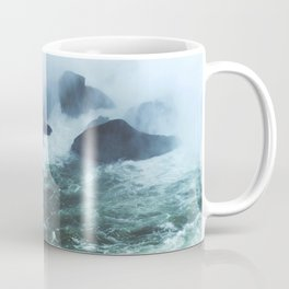 From below where all the water falls, Niagara 03 Coffee Mug