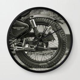 The Vintage Royal Enfield Bullet 350 Motorcycle Wall Clock