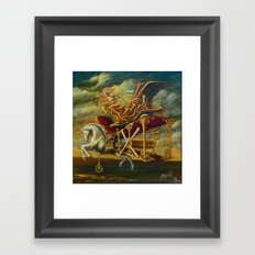 Flight of the Byplaneacorn Framed Art Print