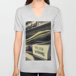 Car Ride Unisex V-Neck