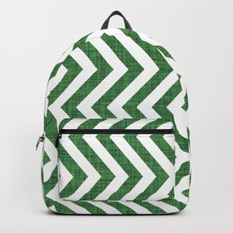 Canadian Wildlife Chevron Emerald Backpack
