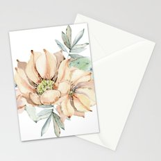 Coral Desert Roses Stationery Cards