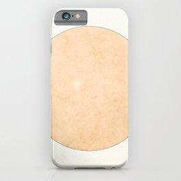 Imperial Beige - Moon Minimalism iPhone Case