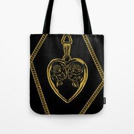 Locket Chains Tote Bag