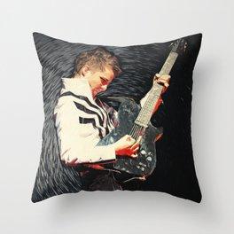 Matthew Bellamy Throw Pillow