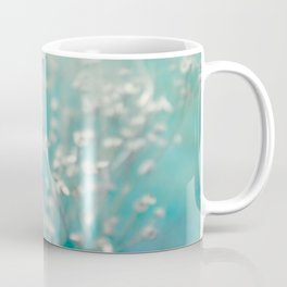 Ice blue - floral Coffee Mug
