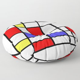 Mondrian #60 Floor Pillow
