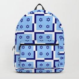 Star of David 32- Jerusalem -יְרוּשָׁלַיִם,israel,hebrew,judaism,jew,david,magen david Backpack