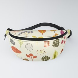 Fall Autumn Nature Forest Bits Fanny Pack