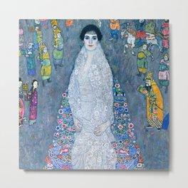 """Gustav Klimt """" Portrait of Elisabeth Lederer"""" Metal Print"""
