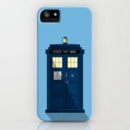 The TARDIS iPhone Case