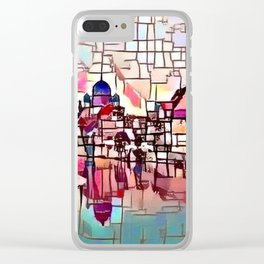 Nuremberg River View Clear iPhone Case