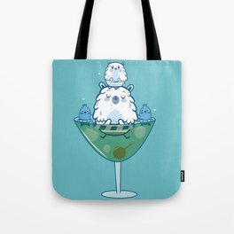 Martini PBear Tote Bag