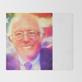 Bernie Sanders Throw Blanket