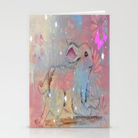bunny Stationery Cards featuring Bunny by Judy Skowron