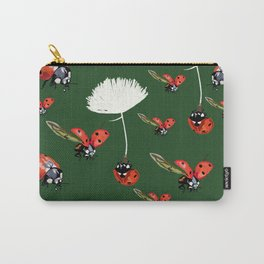 Ladybug flight Carry-All Pouch