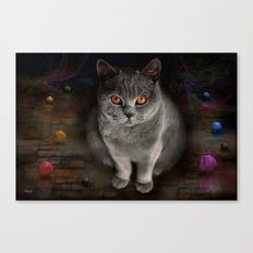 Superstarmodelcat Diesel Canvas Print
