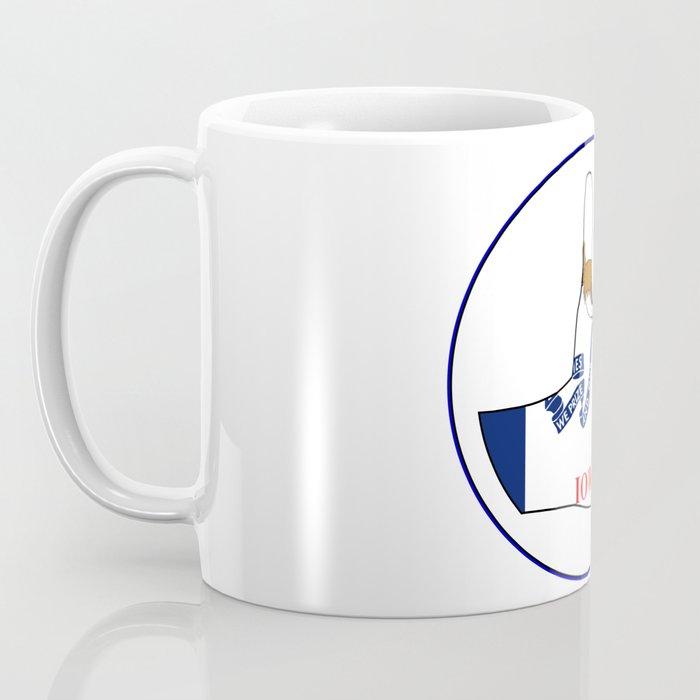 Thumbs Up Iowa Coffee Mug