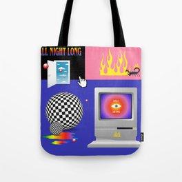 Retro Fantasy Tote Bag