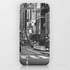 Let my imagination go (B&W) Slim Case iPhone 6s
