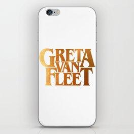Greta Van Fleet iPhone Skin