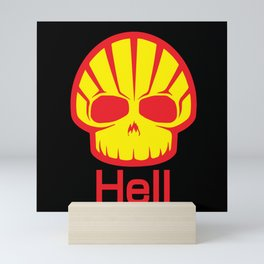 Hell Shell Skul Mini Art Print