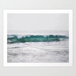 Icy Waters Art Print