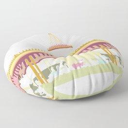 Carousel 2 Floor Pillow