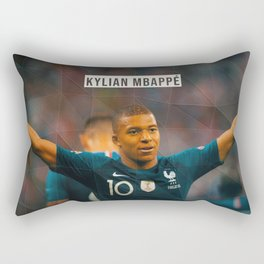 Kylian Mbappe Rectangular Pillow