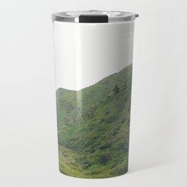 Green Mountains in California Travel Mug