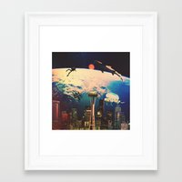 odd future Framed Art Prints featuring Future. by Daniel Montero