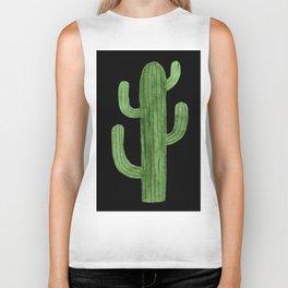 Cactus Solo on Black Biker Tank