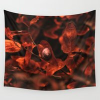 brown Wall Tapestries featuring Brown by pf_photography