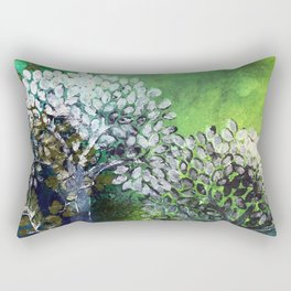 Secret life of (Green) Trees Rectangular Pillow